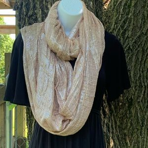 Charlotte Russe Infinity Scarf Sparkling Threads